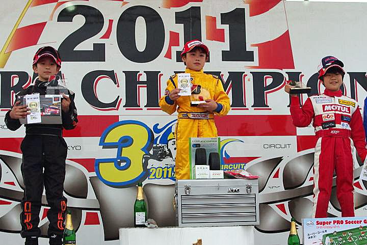 ジュニアカートFes『BSシリーズ』表彰式&レース【2011.5.5】_c0224820_18453951.jpg