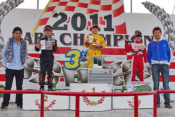 ジュニアカートFes『BSシリーズ』表彰式&レース【2011.5.5】_c0224820_2133322.jpg