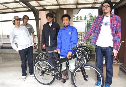 被災地に自転車を!!_f0063022_15483072.jpg
