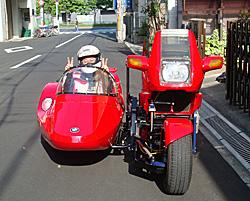 【サイドカーの運転 Part2】_e0218639_0582130.jpg