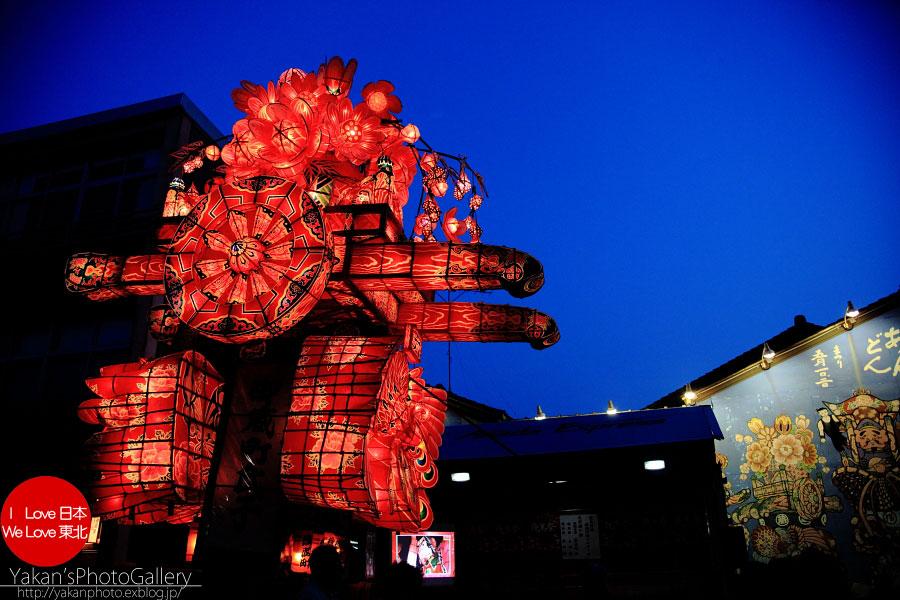 南砺市福野 「夜高祭」 写真撮影記04 夜高行燈夕暮れ編_b0157849_1504490.jpg