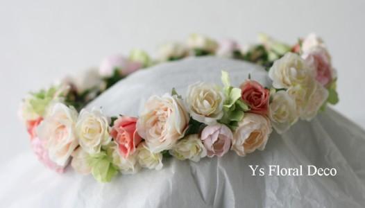 お花たっぷりの花冠 メールのお返事について_b0113510_21545135.jpg