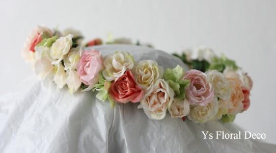 お花たっぷりの花冠 メールのお返事について_b0113510_2155912.jpg