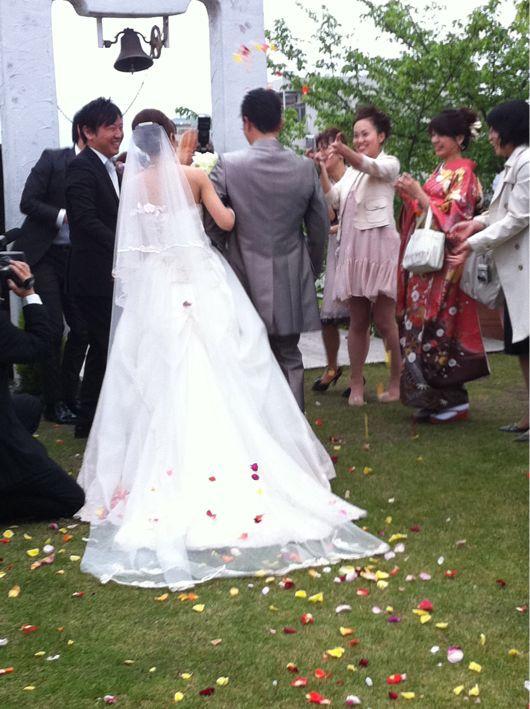 結婚式に招待されました♪_b0210827_21502592.jpg