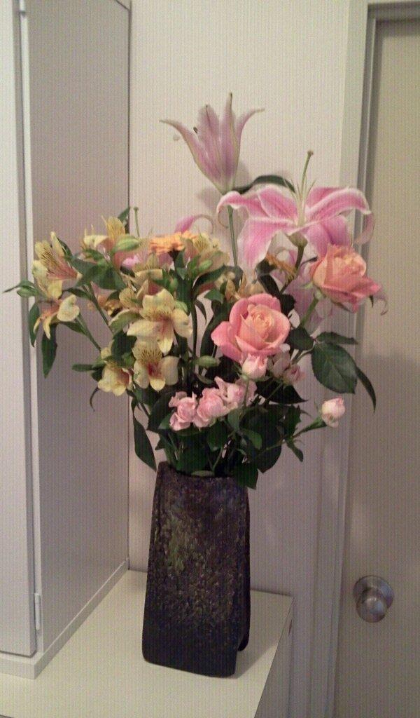 お花レッスンと毎月のお花たち_f0031554_20254027.jpg