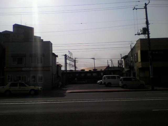 SL函館大沼号が見える喫茶店_b0106766_063323.jpg