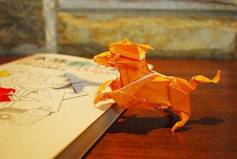 簡単 折り紙 折り紙 キリン : orizuki.exblog.jp
