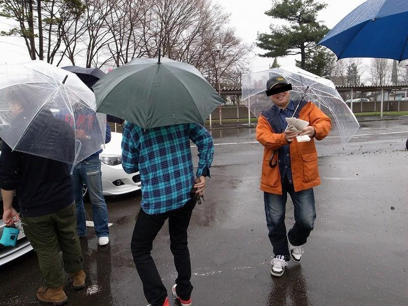 ビーコム北海道 雨の美唄オフ_f0113918_2227966.jpg