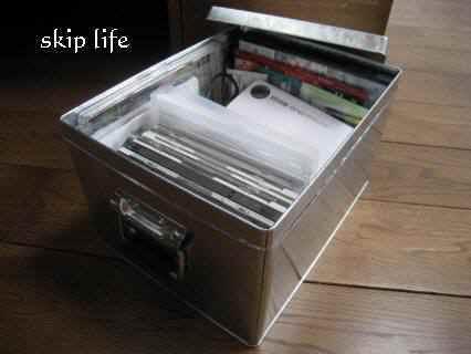 無印良品 トタンボックス : SKIP×skip life