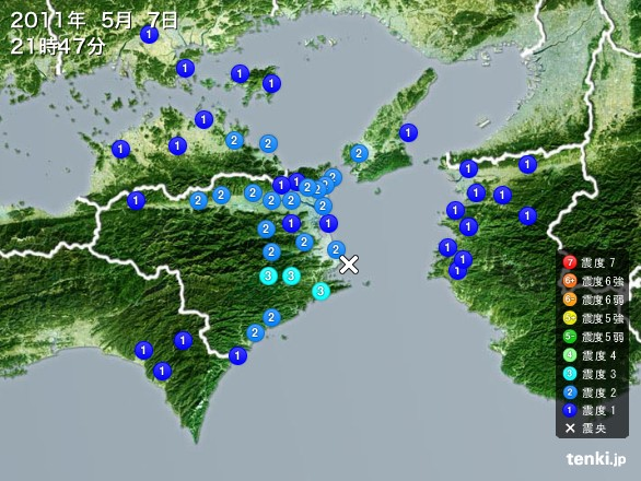 ピンポイントHAARP!?:徳島阿南がHAARPで地震攻撃2発!?_e0171614_921583.jpg