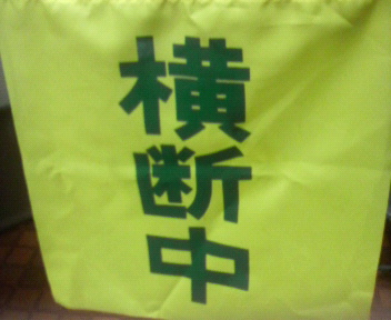 日課の防犯・交通安全指導 2011年5月9日夕 _d0150722_19435369.jpg