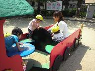 くま組 汽車ぽっぽ公園に行きました。_c0151262_1121329.jpg