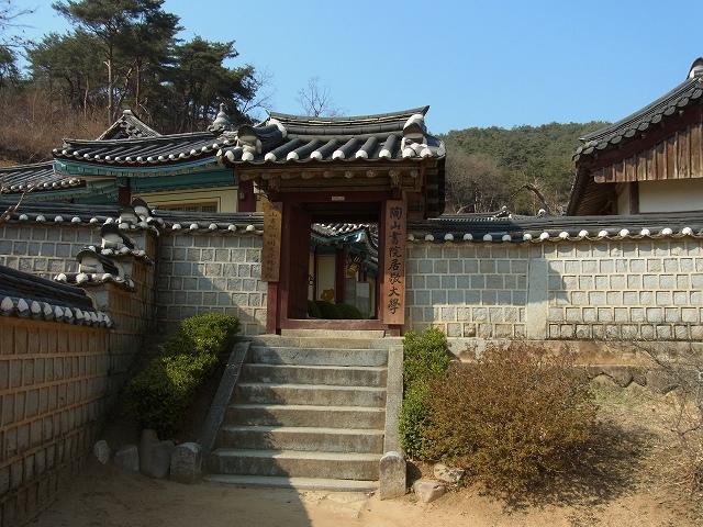 韓国の学問所 陶山書院_d0116009_349933.jpg