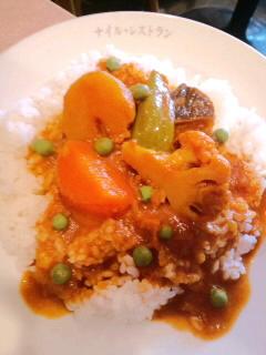 ナイルレストラン物語/野菜カレーライス編_c0033210_19502067.jpg