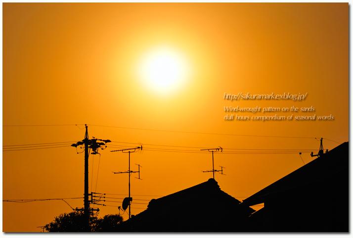 夕焼け通り探検隊 №03 穏やかな夕空_f0235723_1674632.jpg