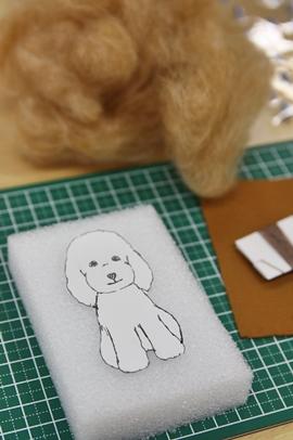 《予告》 第二弾!気まぐれ 羊毛フェルトdog教室のご案内!_e0191026_2232459.jpg