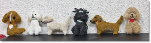《予告》 第二弾!気まぐれ 羊毛フェルトdog教室のご案内!_e0191026_2235248.jpg