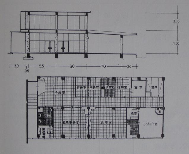 半世紀前の新築駅舎の平面図~『秋田鉄道管理局史』より_f0030574_235585.jpg