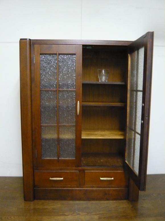 50年前の書棚と旧家の硝子戸が出会って_d0224984_064664.jpg
