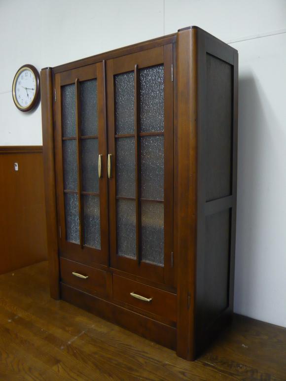 50年前の書棚と旧家の硝子戸が出会って_d0224984_23545946.jpg