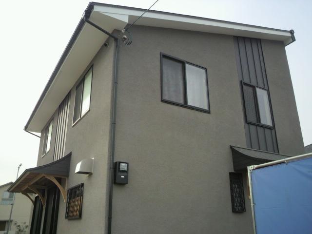 F様邸 ケヤキ板の壁 お披露目_c0124828_10584132.jpg