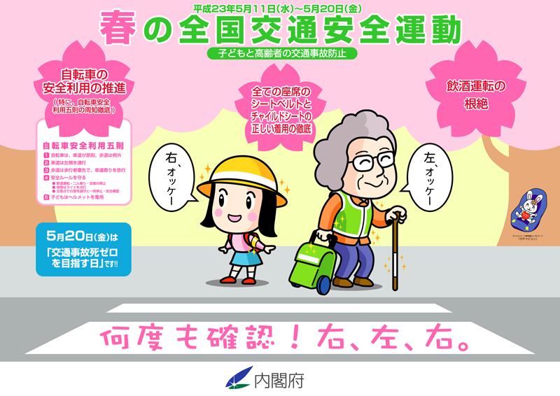 運動 春の 交通 2021 安全