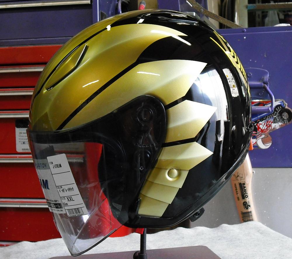無地のヘルメットがラトラーターコンボにチェンジした。_d0130115_20475556.jpg