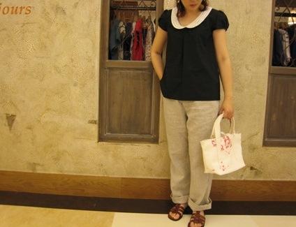 白い丸襟が、かわいいよね!オノレ!_c0227633_214717100.jpg