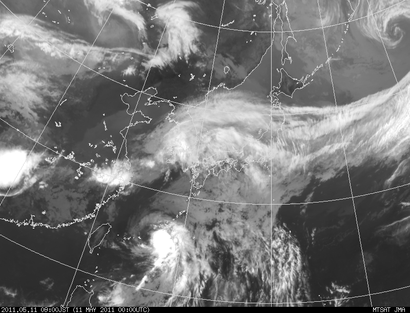 The 1st Typhoon in 2011: 台風1号_a0186568_2173454.jpg