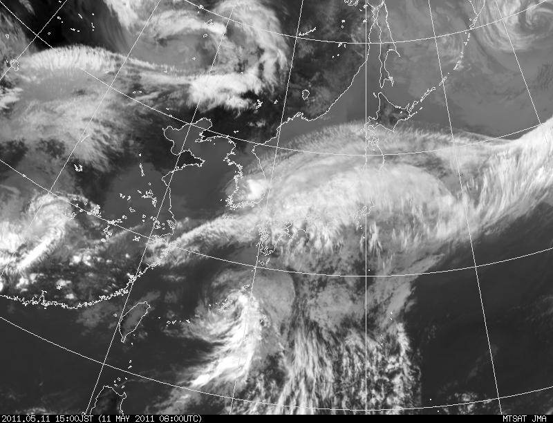 The 1st Typhoon in 2011: 台風1号_a0186568_2184910.jpg