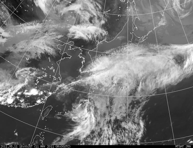 The 1st Typhoon in 2011: 台風1号_a0186568_2185586.jpg