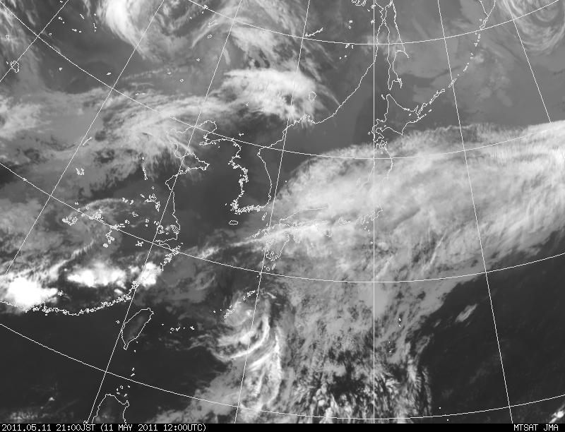 The 1st Typhoon in 2011: 台風1号_a0186568_219667.jpg