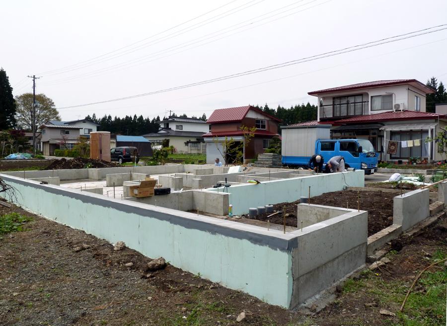 Y様邸「峰吉川の家」 基礎工事_f0150893_17585036.jpg