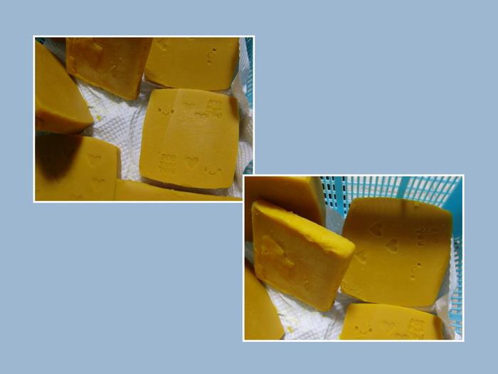 お食事会と手作り石鹸(乾燥中)_b0203925_2183761.jpg
