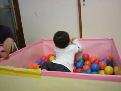 くま組 ボールプールで遊びました_c0151262_12463851.jpg