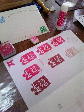 上野でパンダはんこ(笑)_f0224568_18554363.jpg