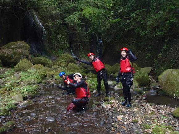 由布川峡谷キャニオニングツアー、画像_f0230770_10462651.jpg