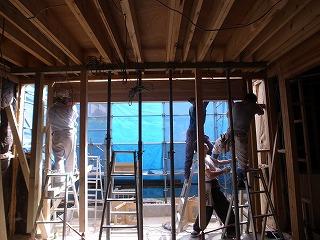 長久手町の家 耐力壁撤去_f0059988_19521663.jpg