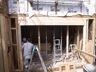 長久手町の家 耐力壁撤去_f0059988_19523565.jpg