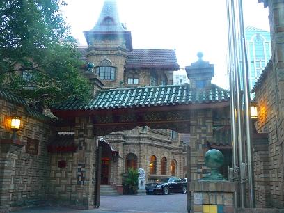 中国出張2010年08月-第一日目-上海へ、クラッシックホテルとフレンチDinner_c0153302_11484530.jpg