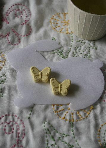 花ふきん たんぽぽとちょう_f0082141_650554.jpg