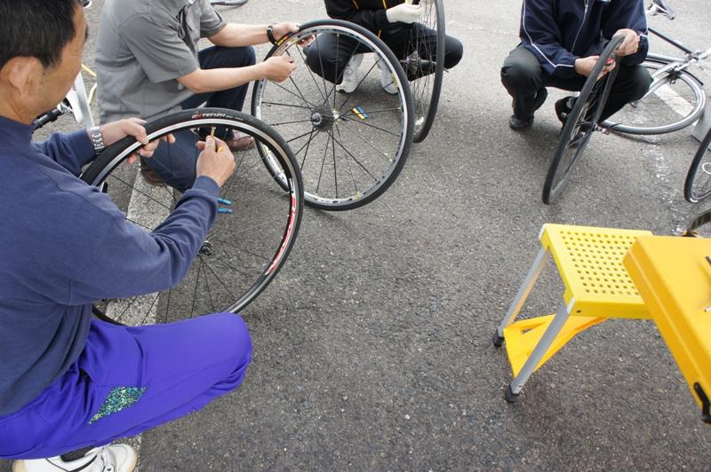 11年5月14日・自転車パンク修理講座受講_c0129671_17553197.jpg