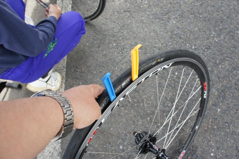 11年5月14日・自転車パンク修理講座受講_c0129671_17554039.jpg