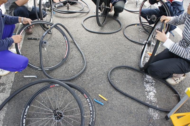 11年5月14日・自転車パンク修理講座受講_c0129671_17561112.jpg