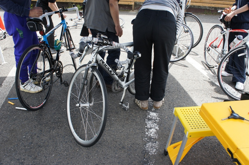 11年5月14日・自転車パンク修理講座受講_c0129671_17563262.jpg