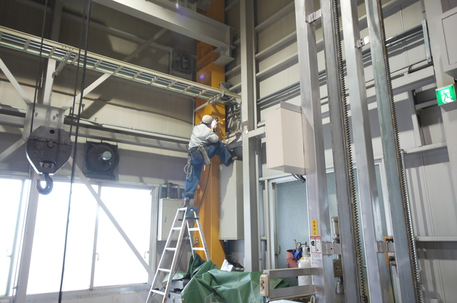 S造工場内部増築工事 _e0214805_4595952.jpg
