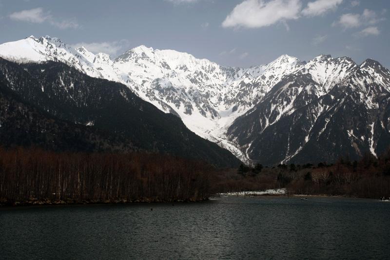 穂高の山々_a0087133_22184624.jpg