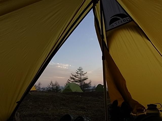 2011.5.14-15 奥多摩小屋 シャングリラ1デビュー day1 鴨沢-奥多摩小屋_b0219778_1820687.jpg
