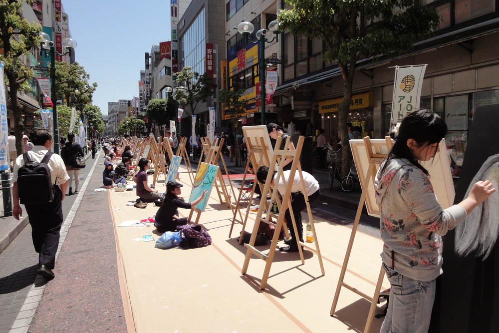 Live Painting 30 vs 30@市民活動フェスタ_e0105782_22111444.jpg