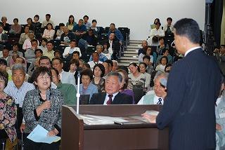 東北大震災報告会終了!_d0050503_9135510.jpg